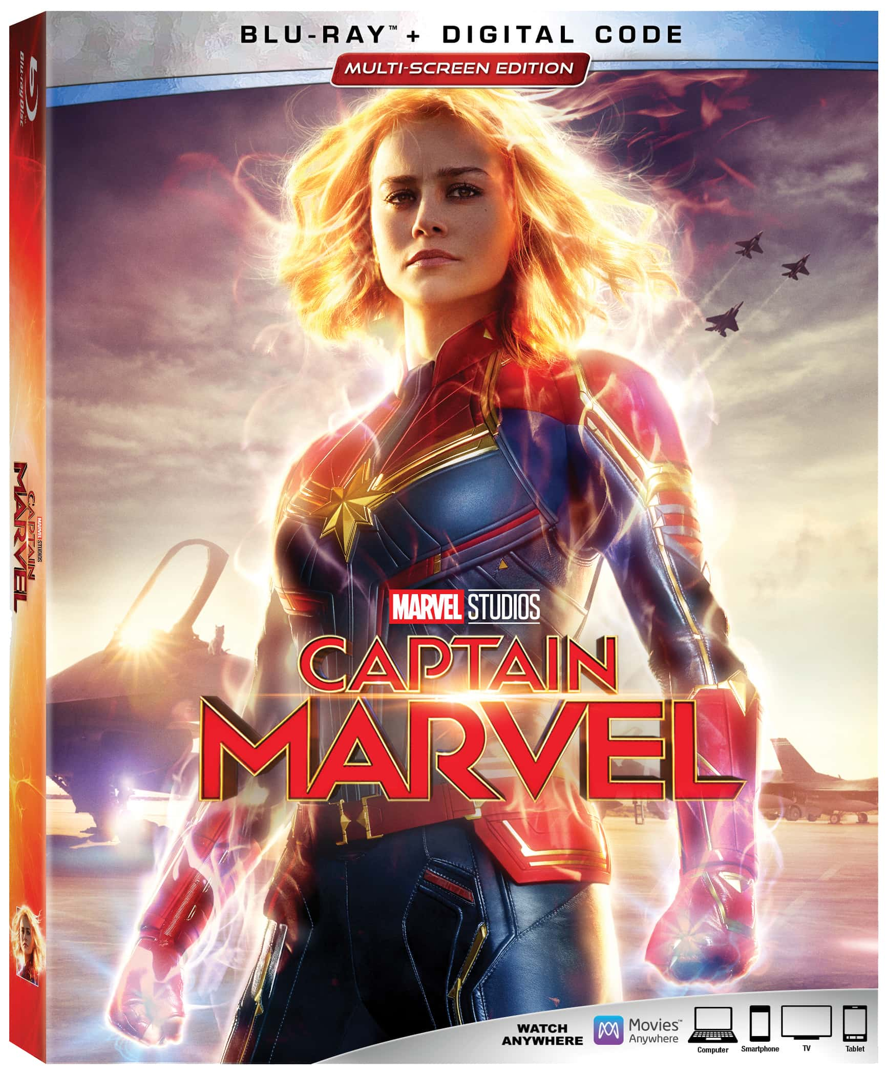 Captain Marvel Blu-ray Bonus Features