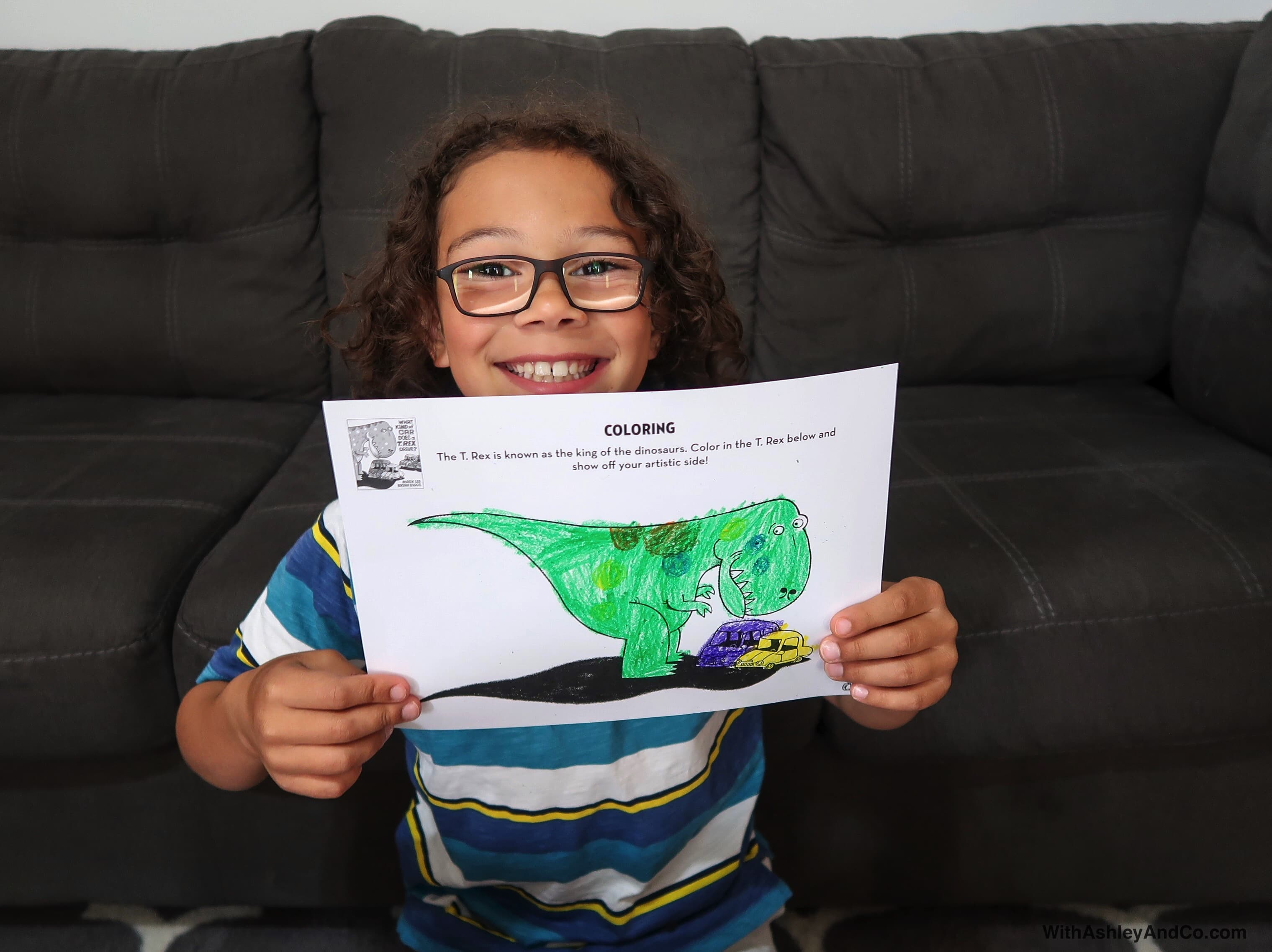 What Kind Of Car Does a T. Rex Drive Book Review