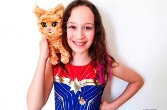 Captain Marvel Hala Star Necklace