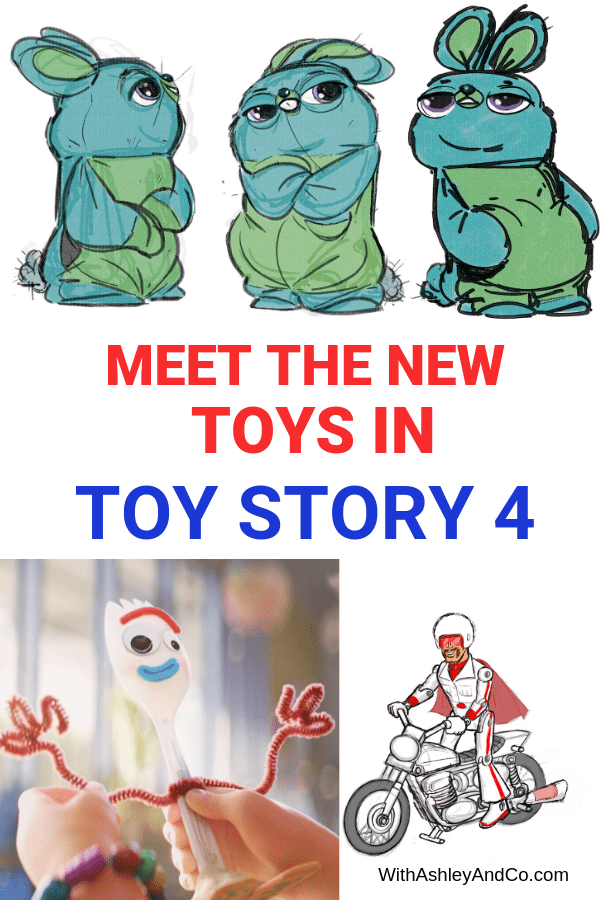 New Toys In Toy Story 4