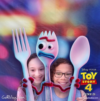 Toy Story 4 Summer Road Trip Event