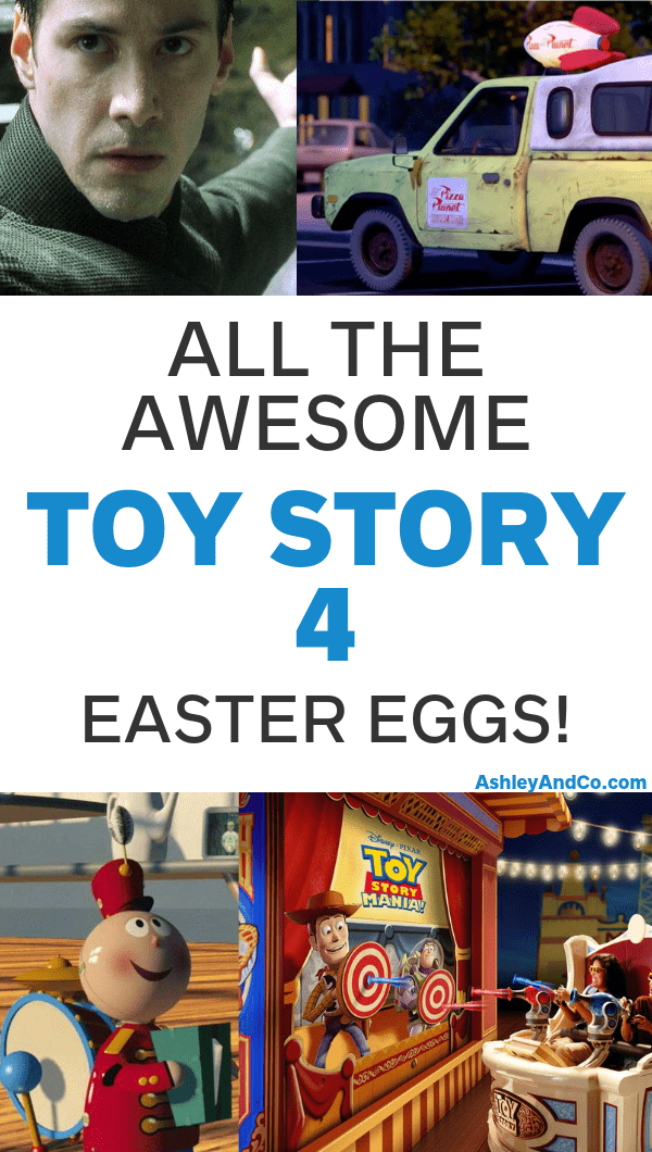 Toy Story 4 Easter Eggs