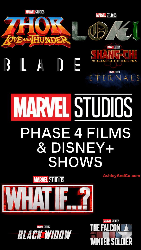 Marvel Phase 4 Movies and Disney Plus Shows Confirmed