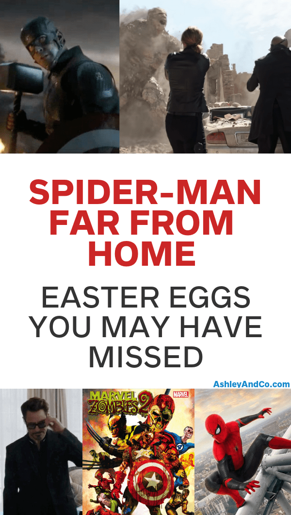 Spider-Man Far From Home Easter Eggs