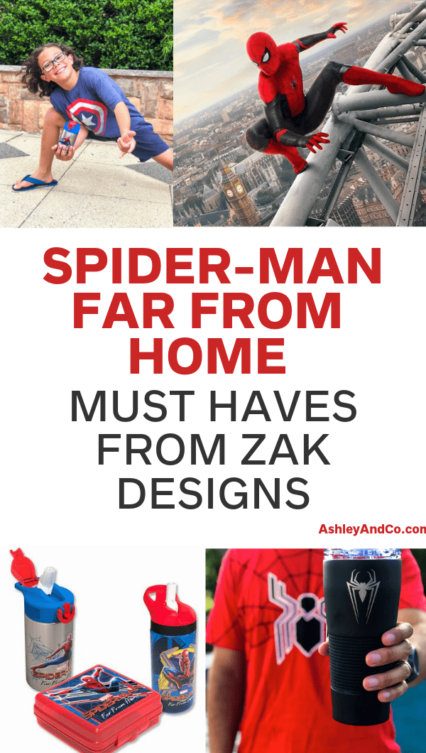Spider-Man Far From Home Must Haves From Zak