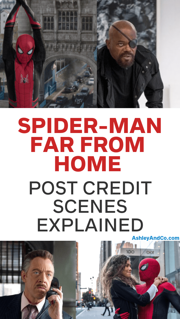 Spider-Man Far From Home Post Credit Scenes