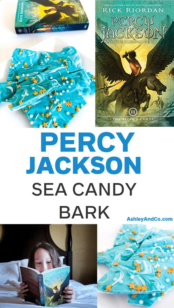 Percy Jackson Sea Candy Bark