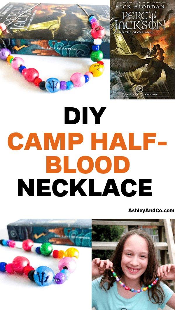 DIY Camp Half Blood Necklace