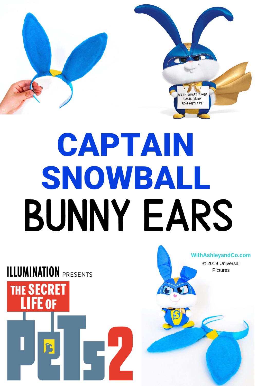 DIY Captain Snowball Ears