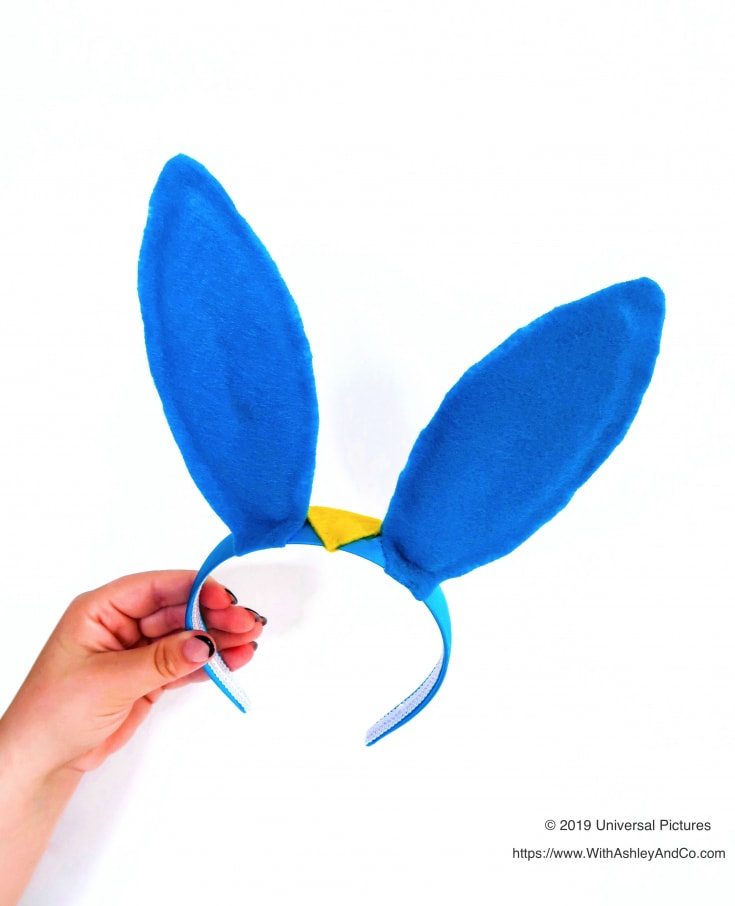 DIY Captain Snowball Ears