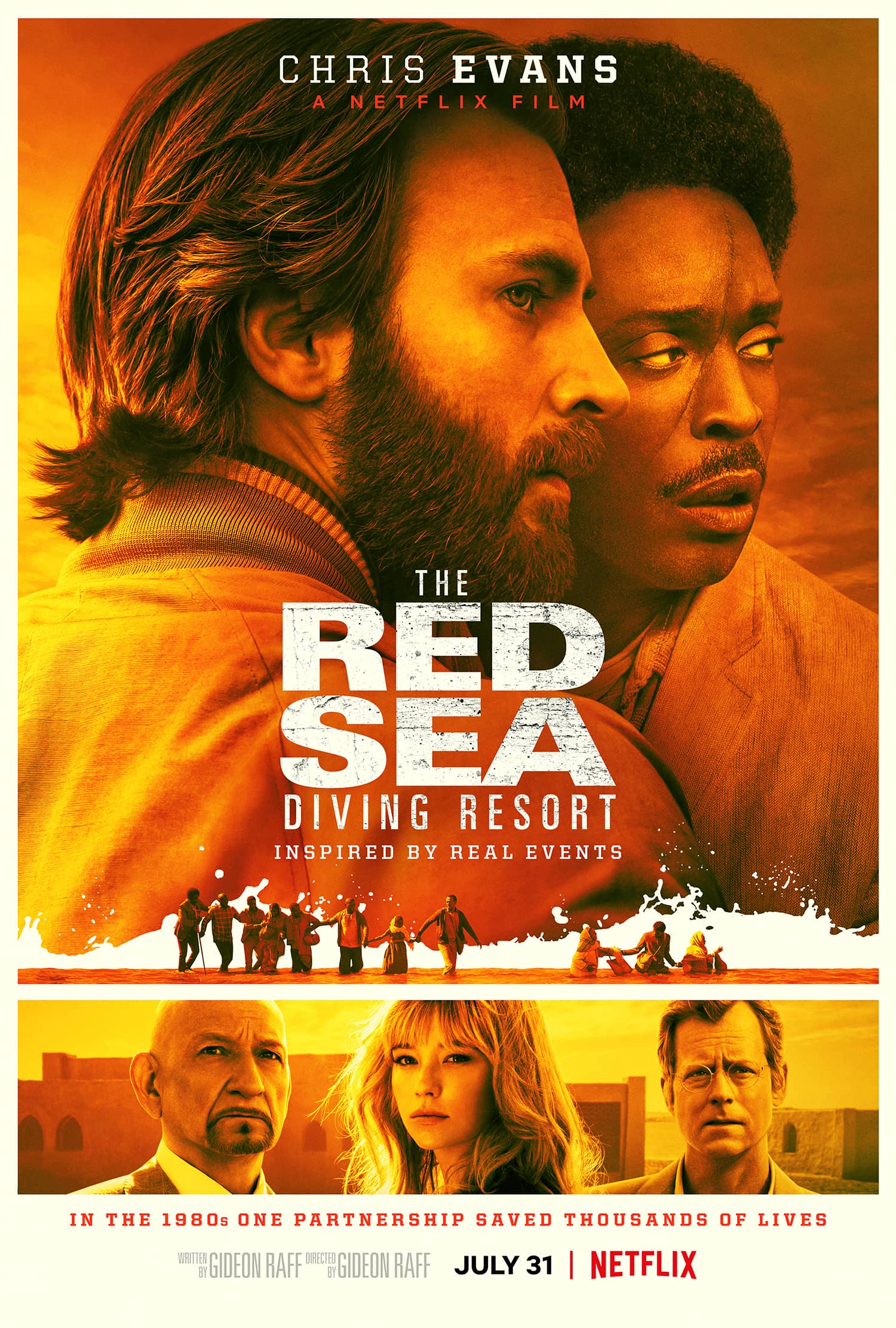 The Red Sea Diving Resort Movie Review