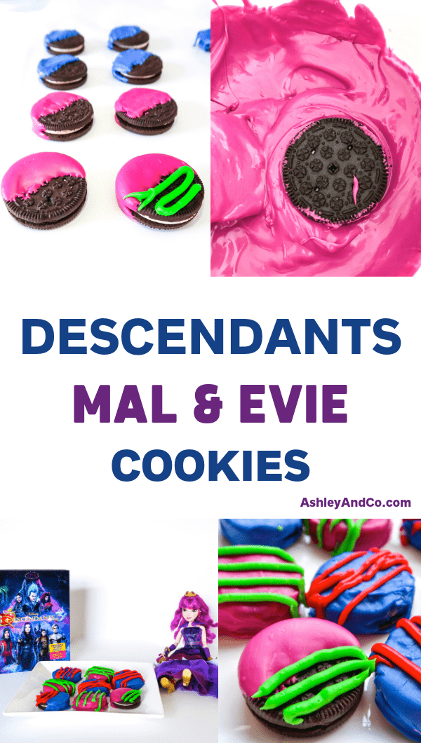 Descendants VK Day Cookies