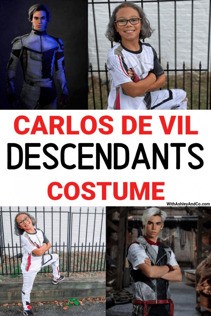 Descendants Carlos De Vil Costume