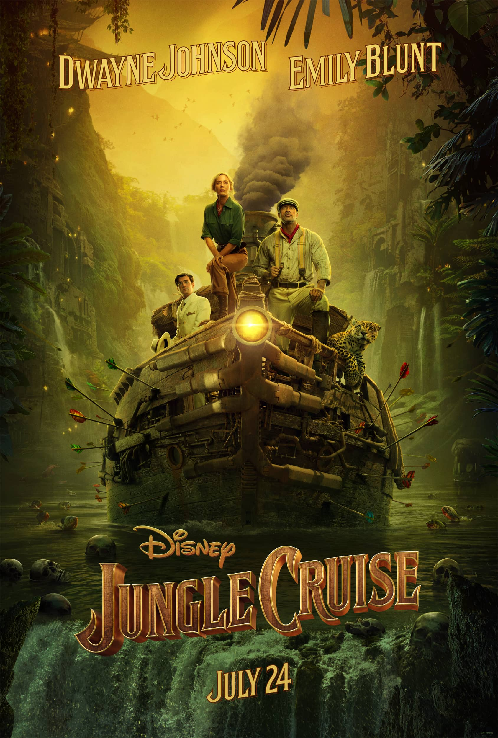 First Look at Jungle Cruise