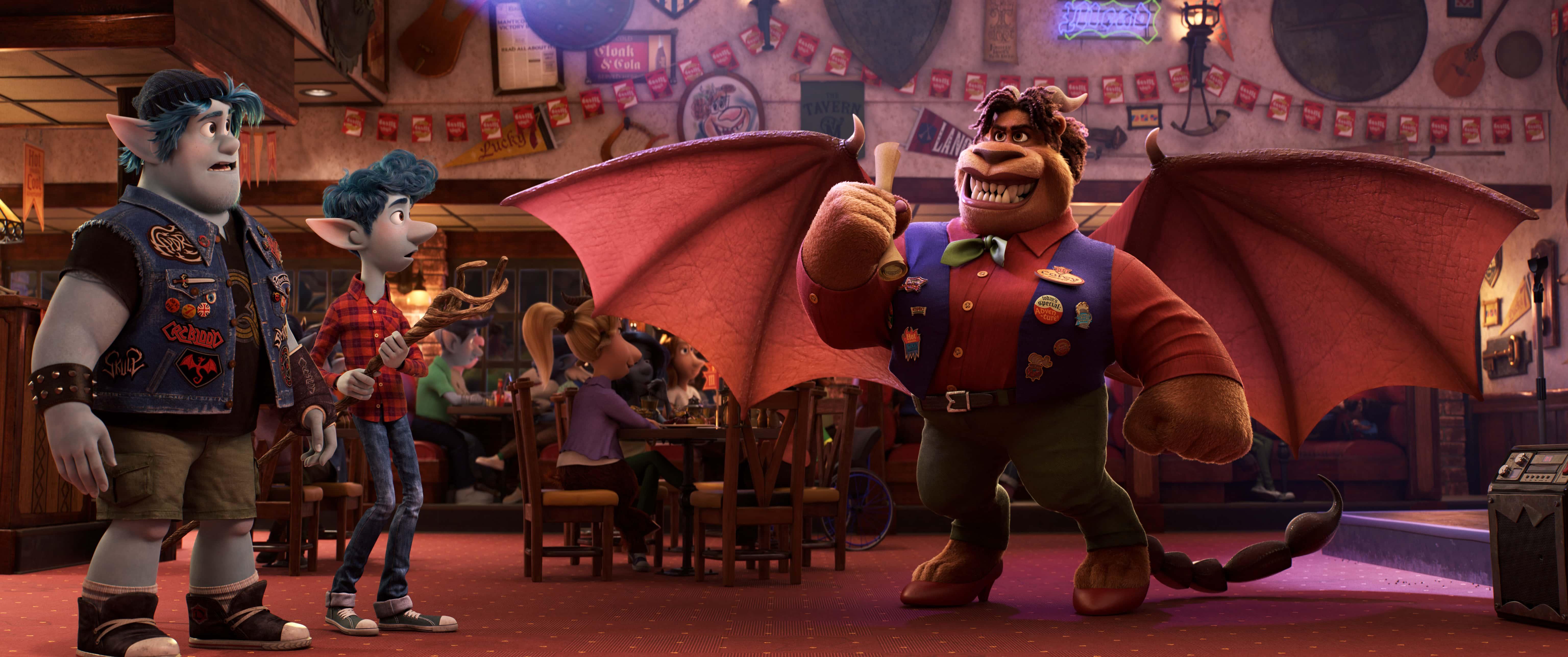 New Pixar Onward Trailer