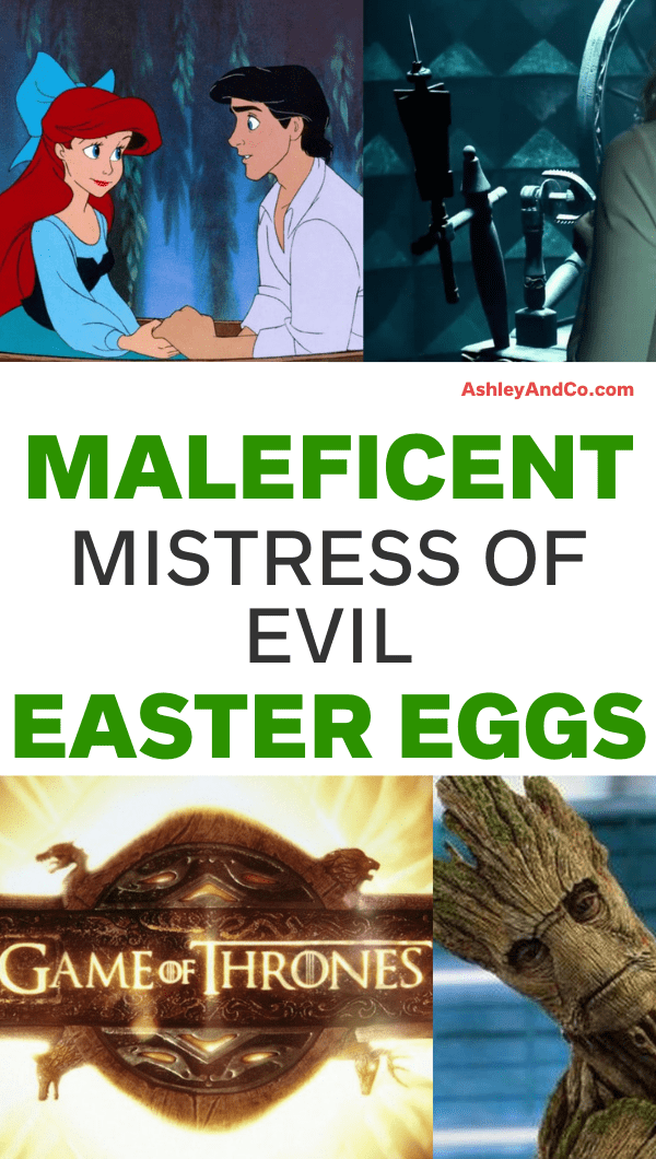 Maleficent Mistress of Evil Easter Eggs