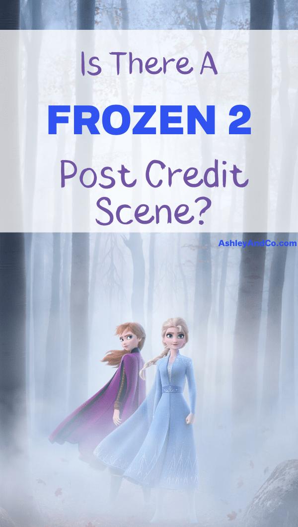 Frozen 2 Post Credit Scene