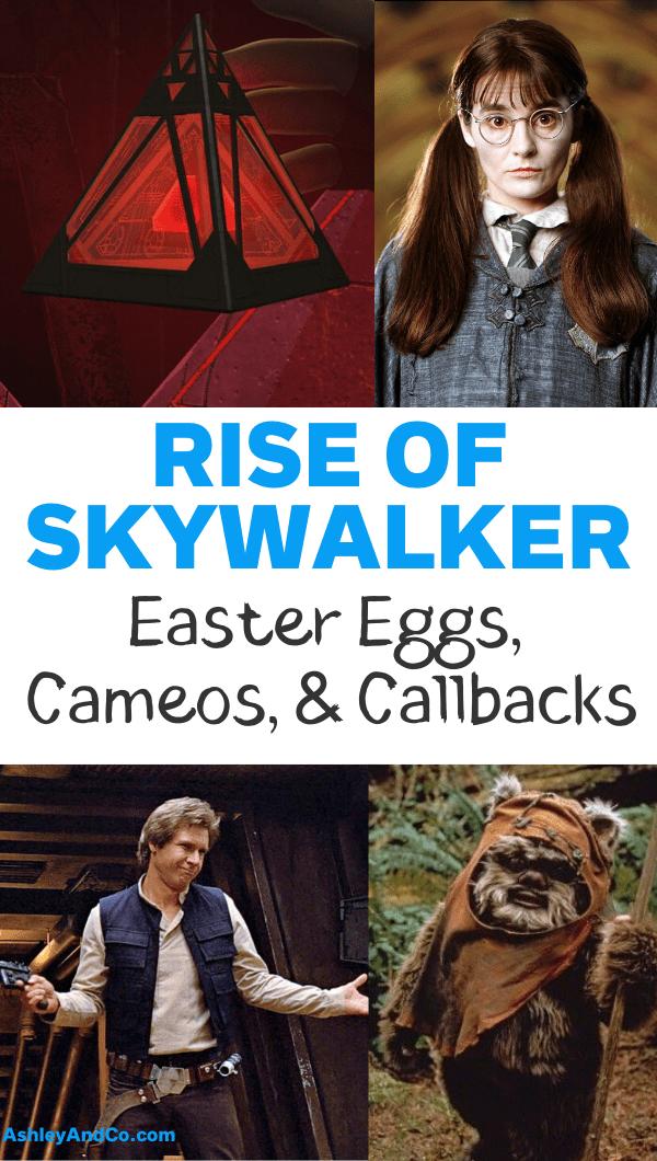 Rise of Skywalker Easter Eggs