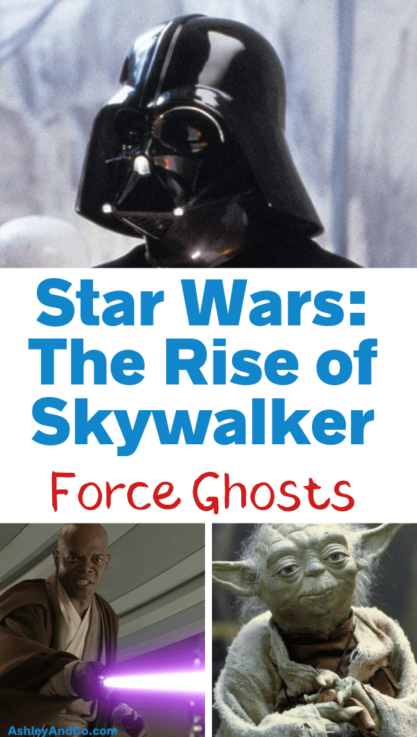 Rise of Skywalker Force Ghosts
