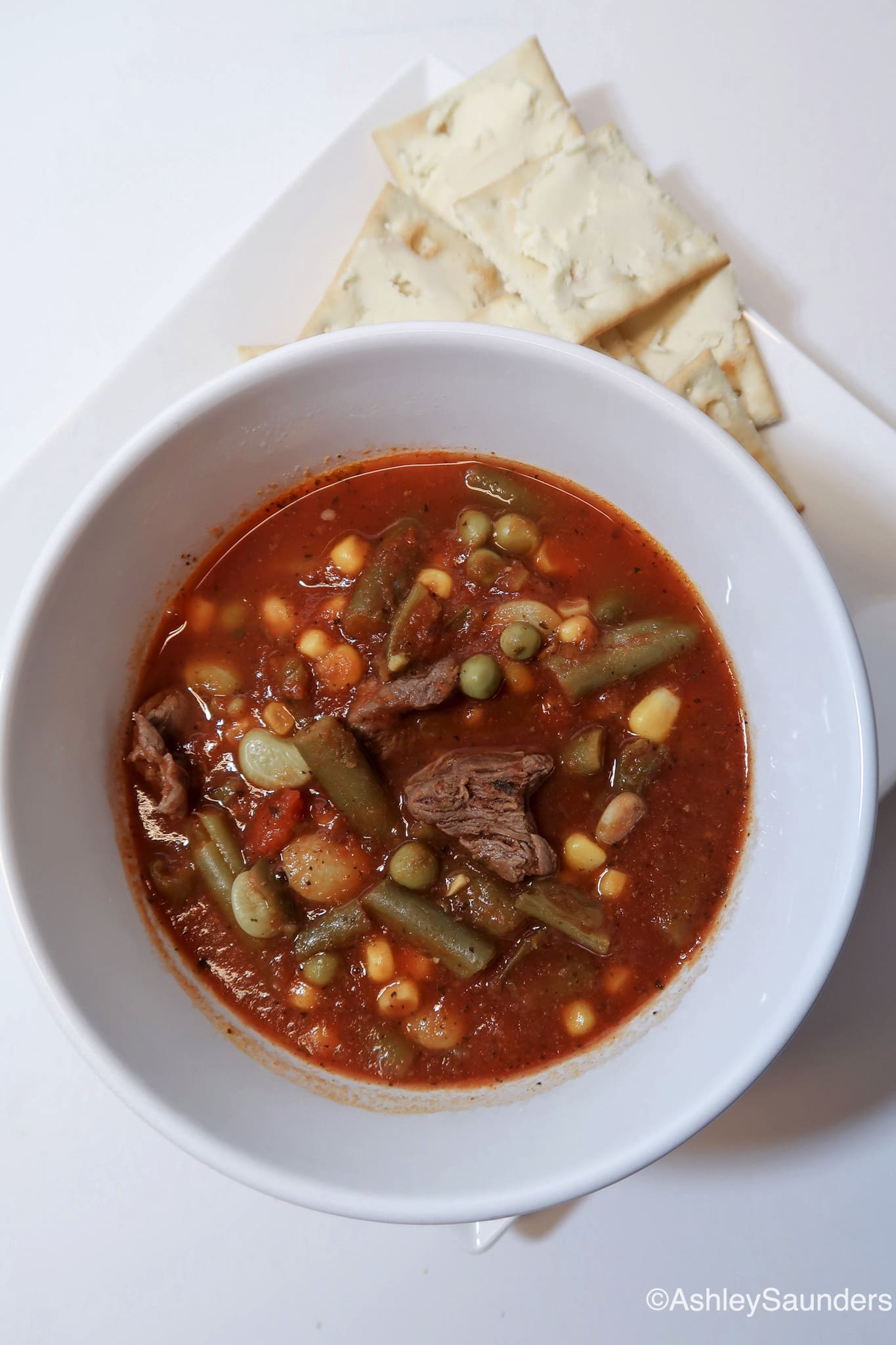 Slow Cooker Beef and Vegetable Stew
