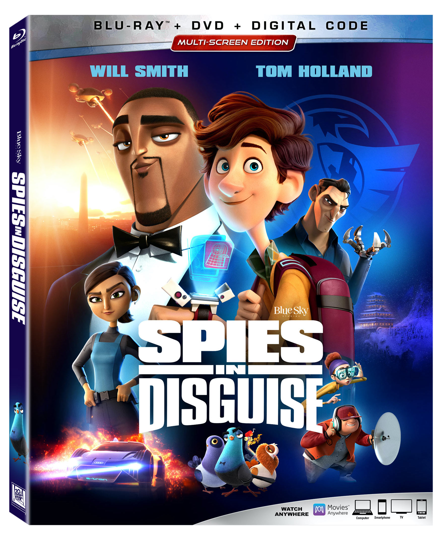 Spies in Disguise Bonus Features