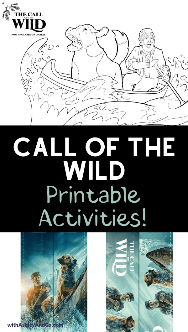 Call of the Wild Free Printable Activities