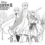Free Frozen 2 Printable Activities