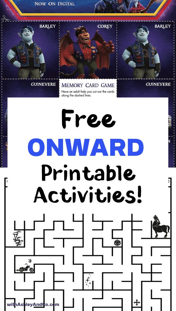 Free Onward Printable Activities