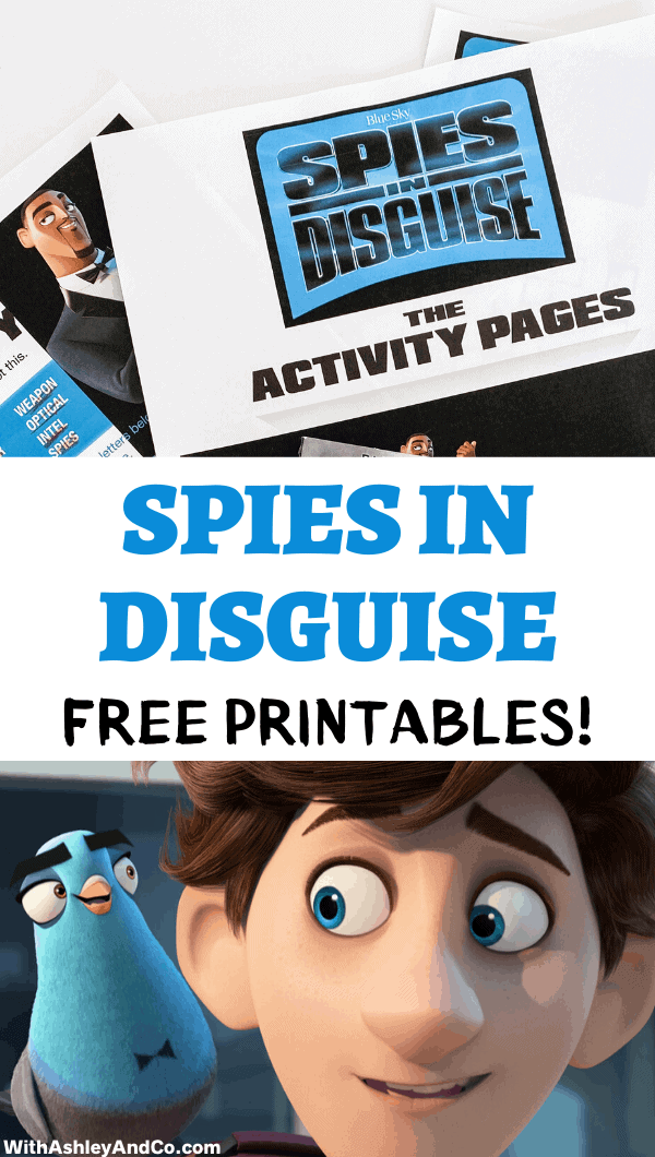 Free Spies in Disguise Activities