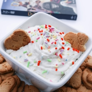 Dolittle movie night cookie dip