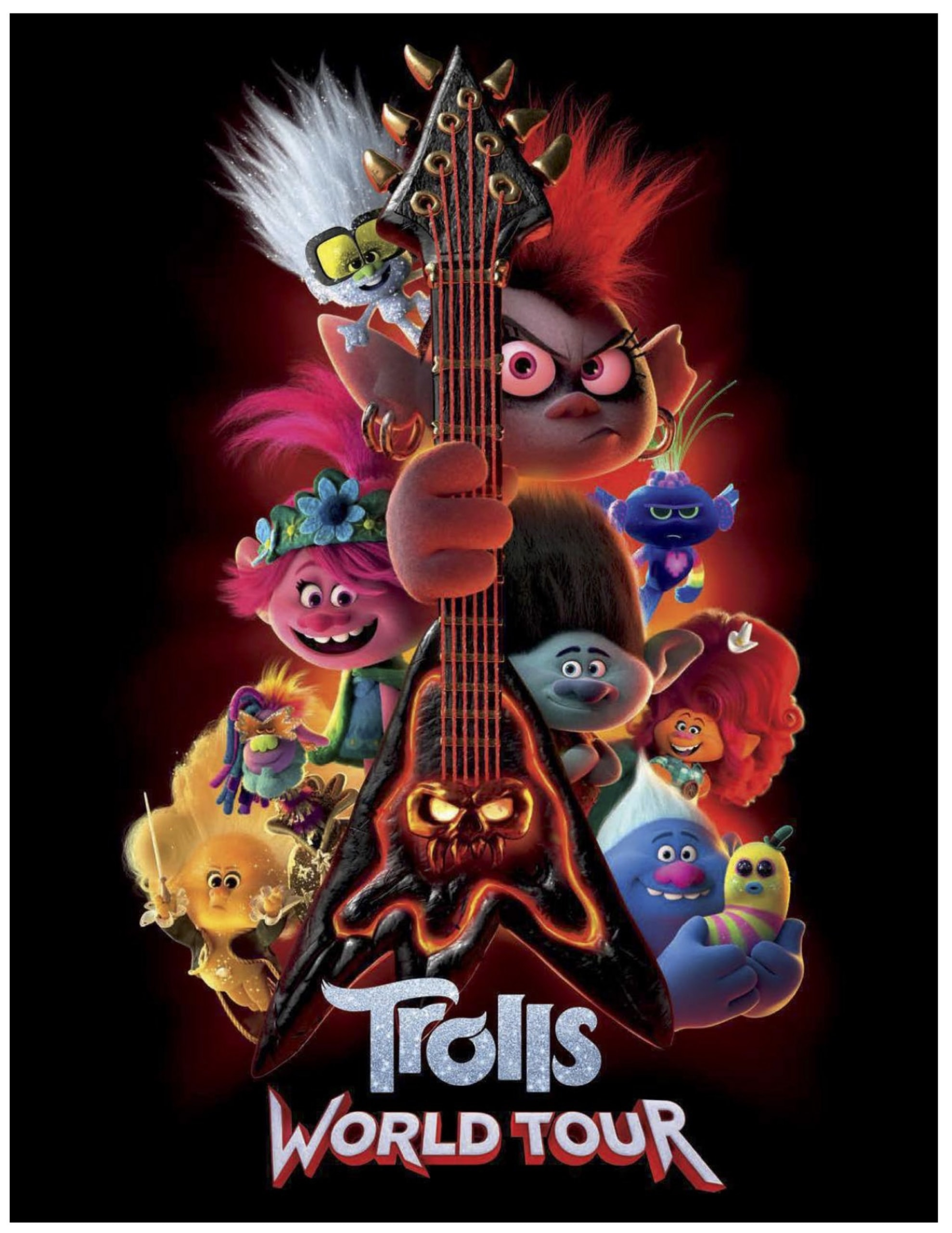 free Trolls World Tour printable activities