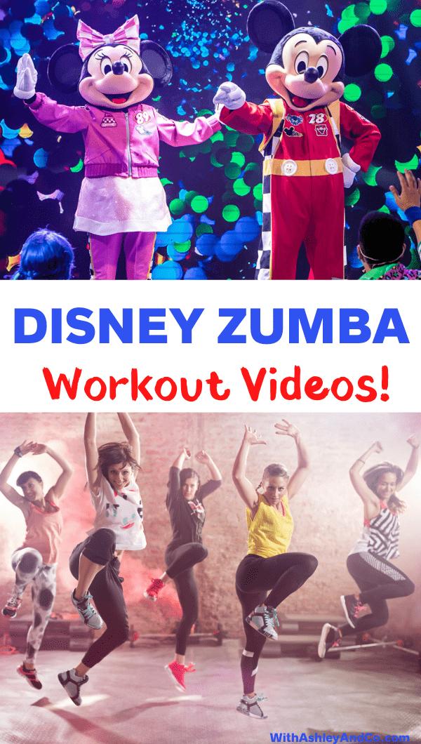 Disney Zumba Videos Pin