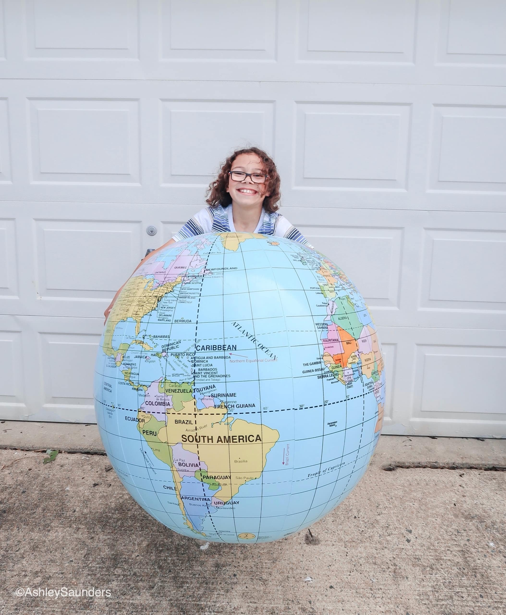 Giant Globe For Learning