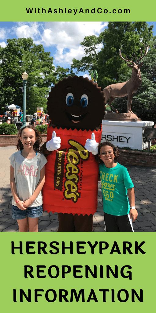 Hersheypark Reopening Information