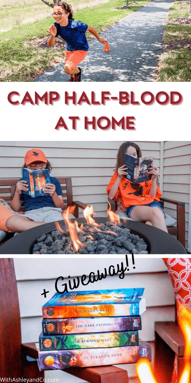 Camp Half-Blood At Home Pin
