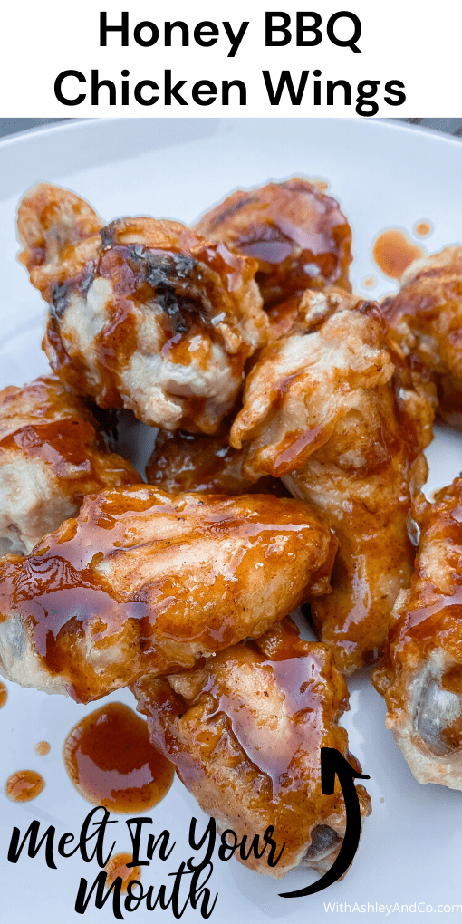 Honey BBQ Chicken Wings Pin