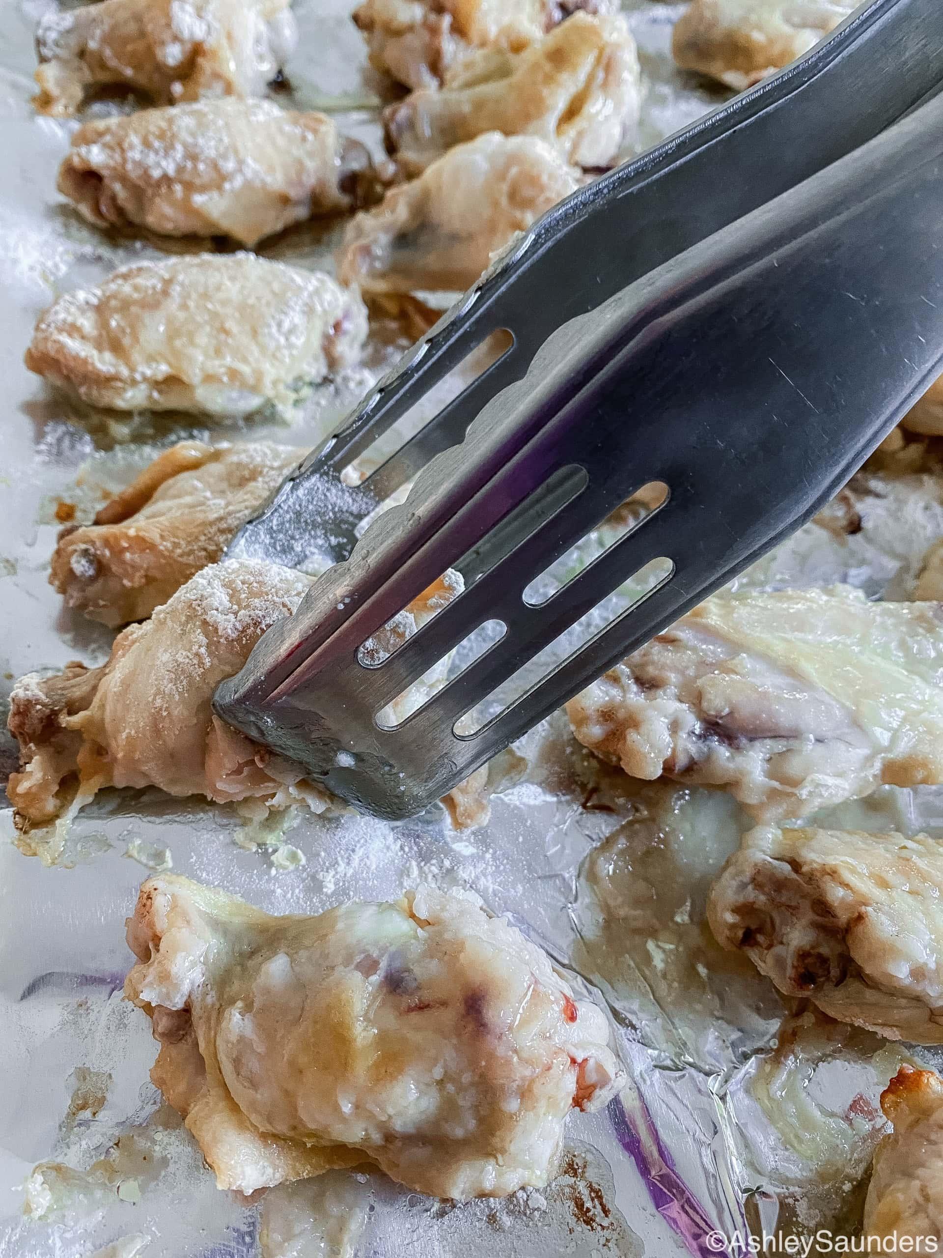 Honey BBQ Chicken Wings Bake