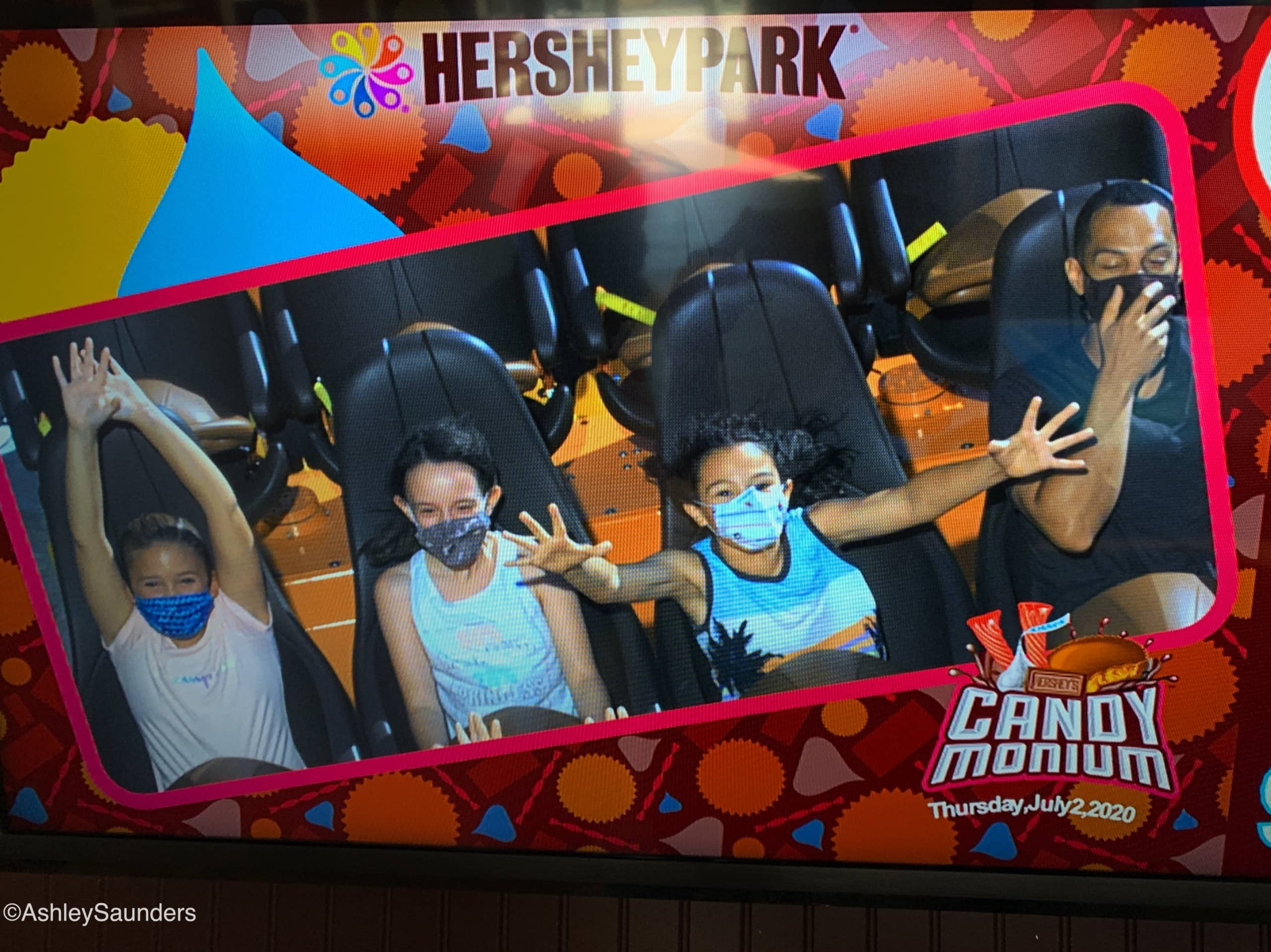 Visiting Hersheypark in 2020 Masks
