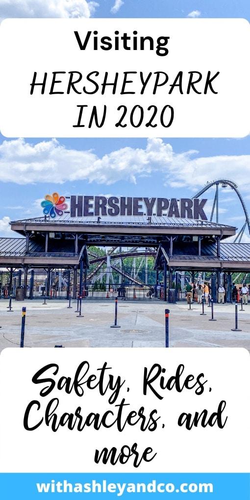 Visiting Hersheypark in 2020 Pin