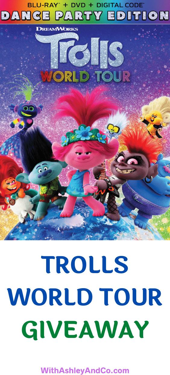 Trolls World Tour Giveaway