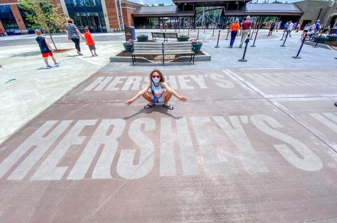 Visiting Hersheypark in 2020