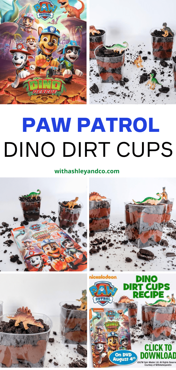 Dinosaur Dirt Cups Snack