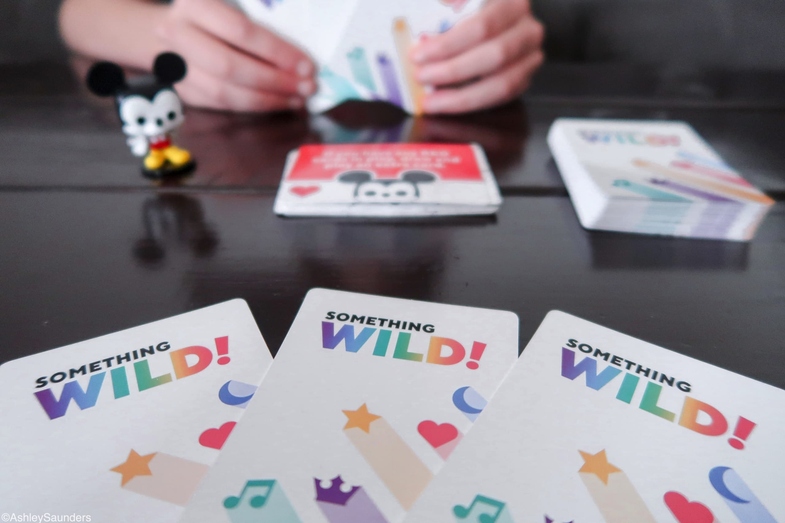 Something Wild Game Cards Mickey