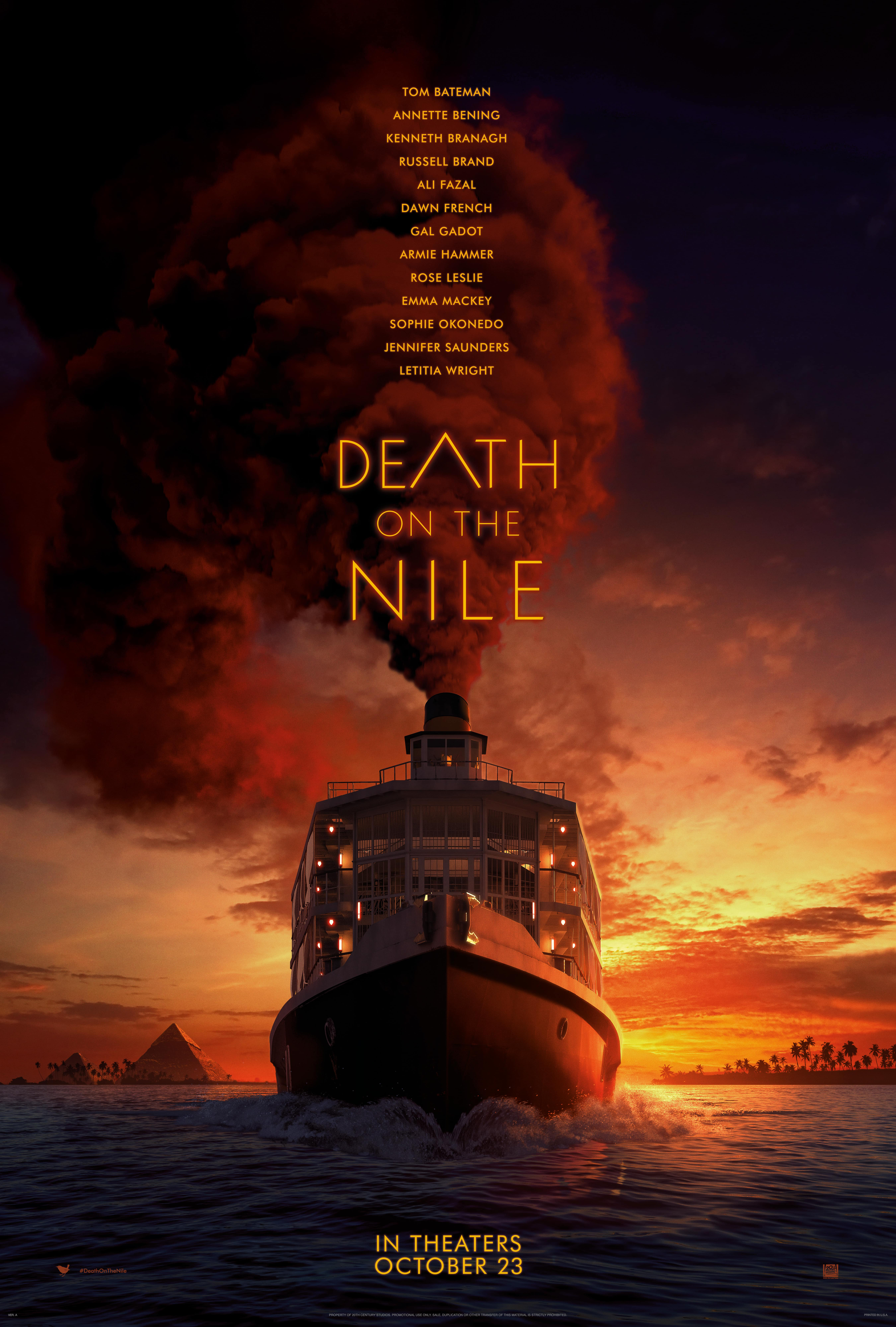First Look at Death On The Nile