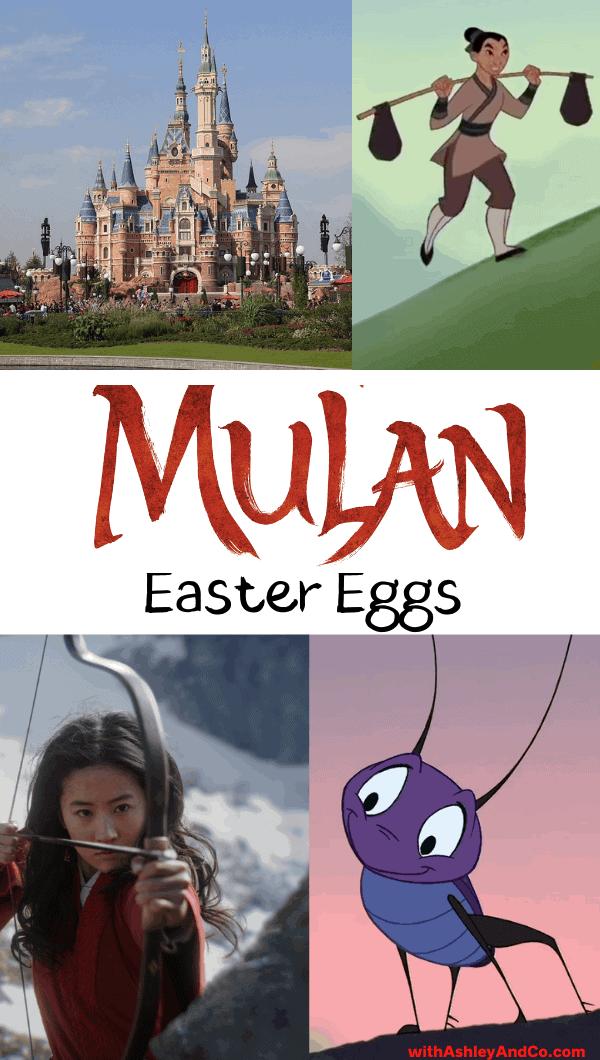 Mulan Easter eggs