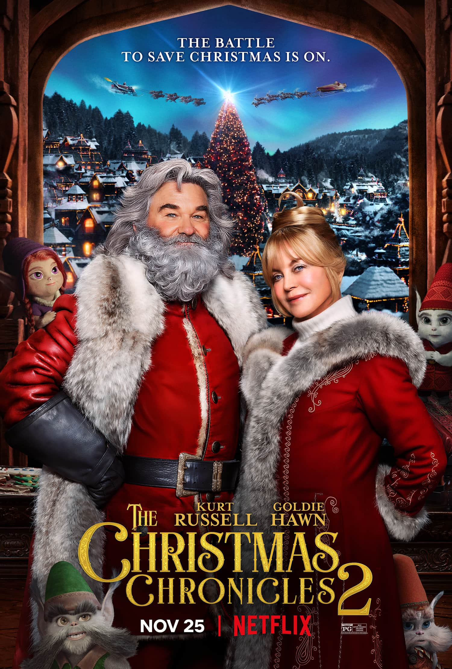 Christmas Chronicles 2 Poster