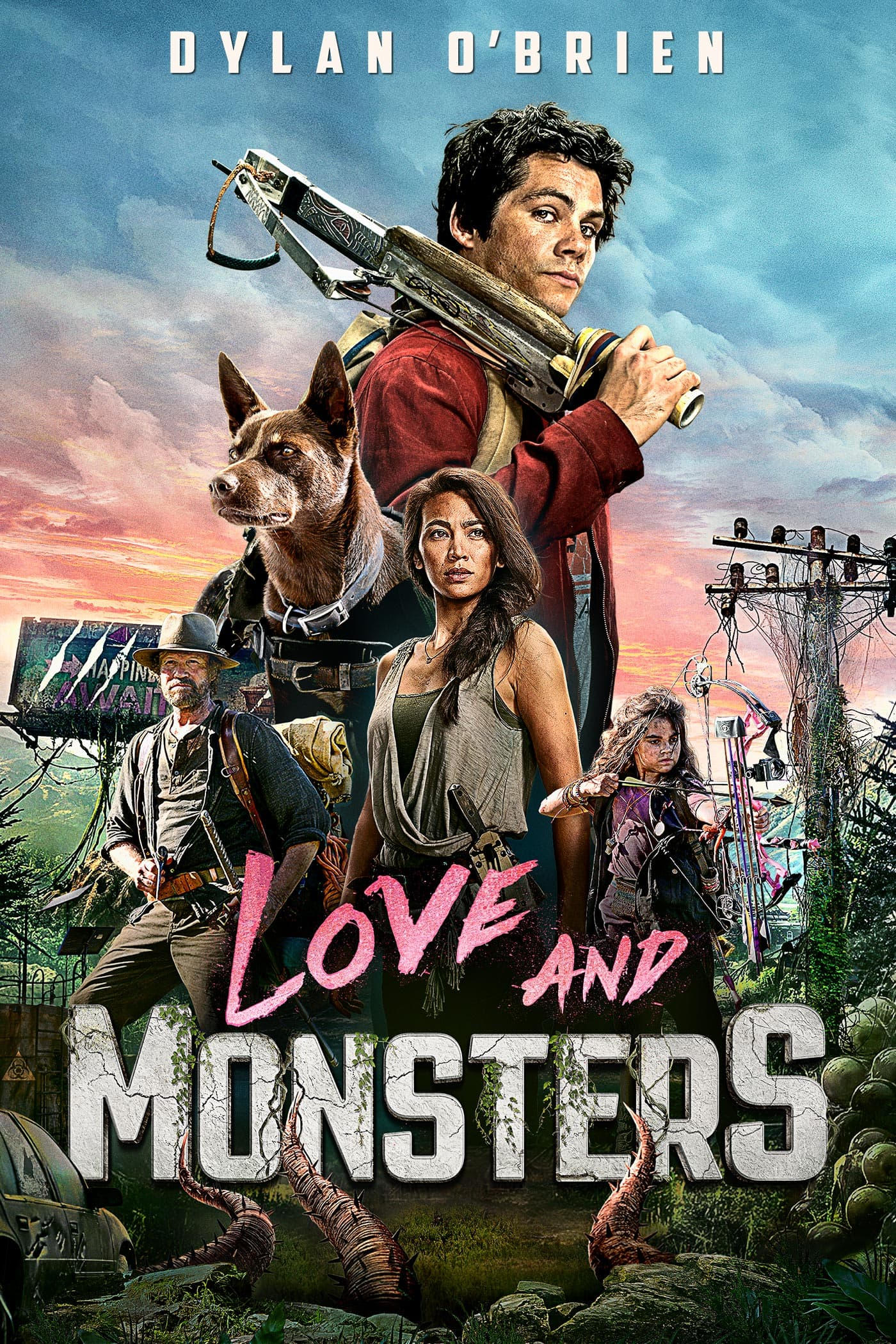love and monsters film