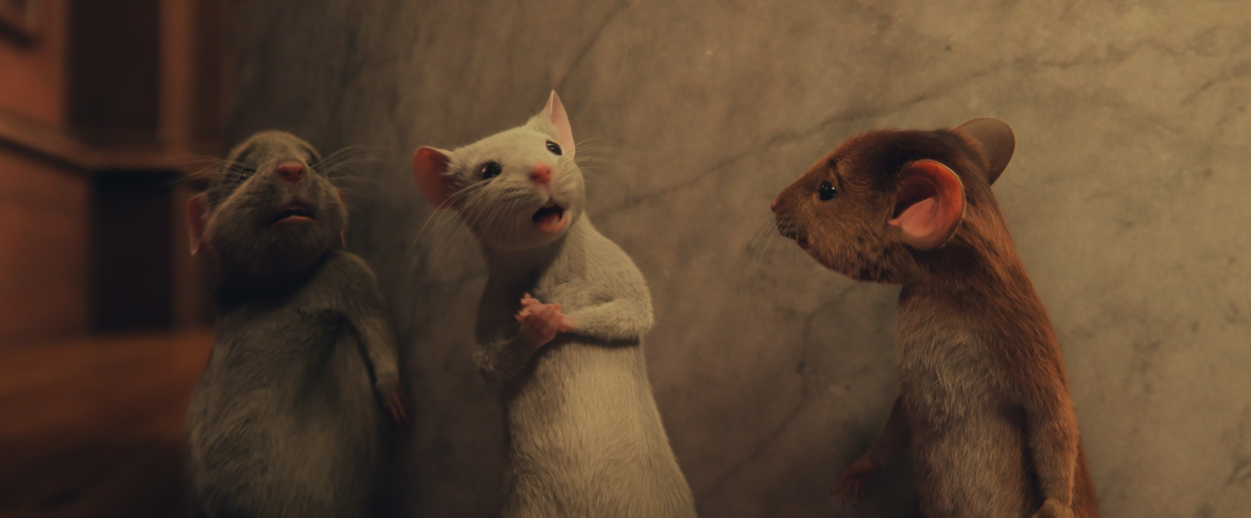 The Witches Movie Mice
