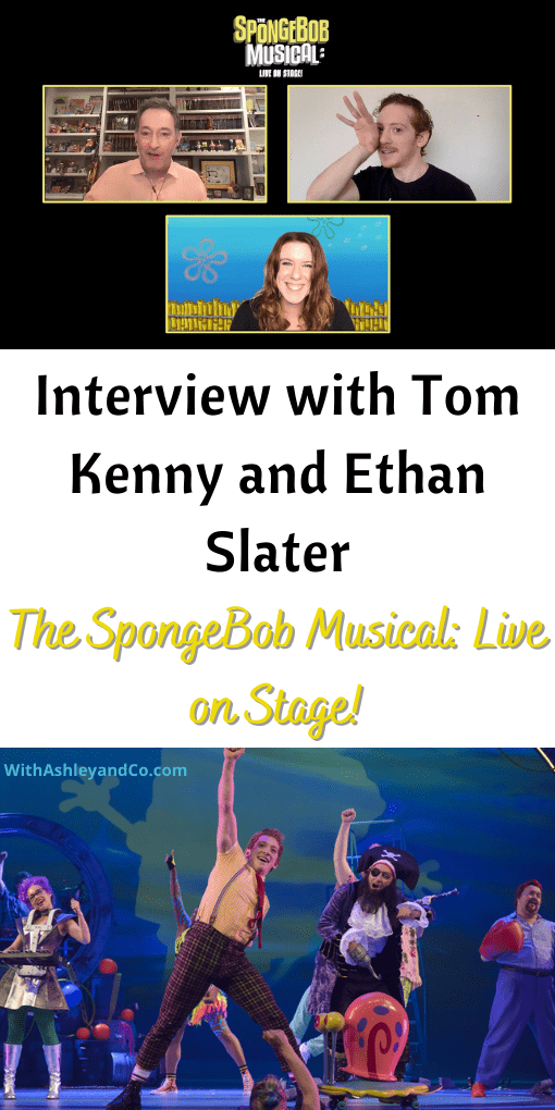 Interview With Tom Kenny and Ethan Slater SpongeBob Musical