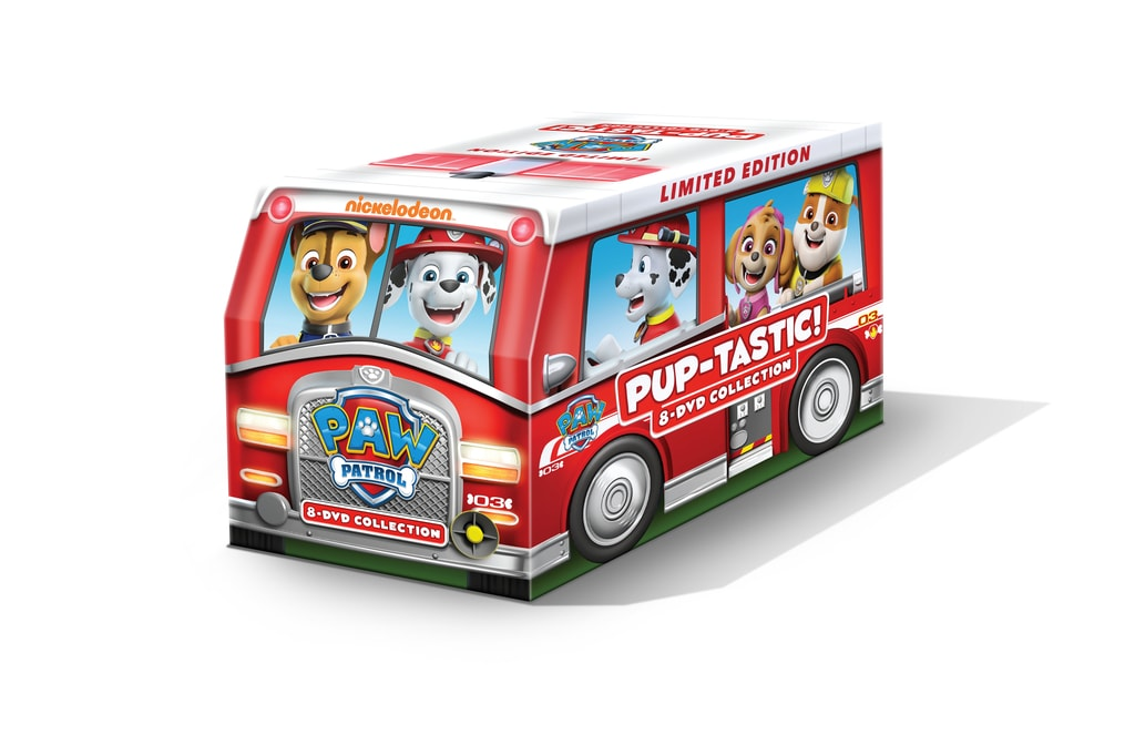 PAW Patrol PUP-tastic 8 DVD Collection Giveaway